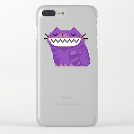 Pixicat Clear iPhone Case