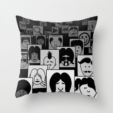 SF Guess Who? Throw Pillow