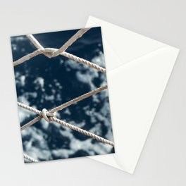 Nautical rope Stationery Cards