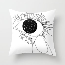Look what's inside of me Throw Pillow