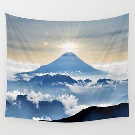 Mt. Fuji Sunrise Wall Tapestry