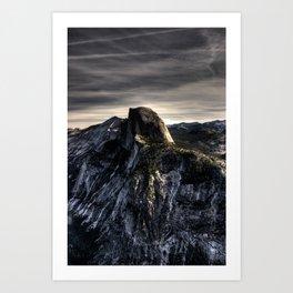 Glacier Point, October 2008 Art Print