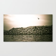At the River... Canvas Print