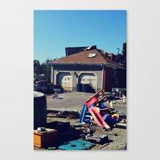 Hollywood Disaster Canvas Print