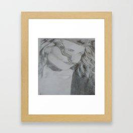 Belinda Beauty Framed Art Print