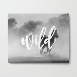 MANTRA SERIES: Wild Metal Print