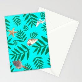leaf coral Stationery Cards
