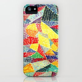 Gino Severini Spherical Expansion of Light into Space iPhone Case