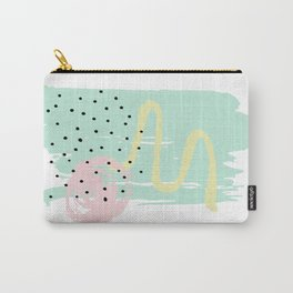 Spring Abstract 1 Carry-All Pouch