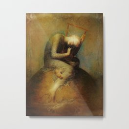 Hope Whispers Metal Print