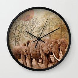 Long Walk Wall Clock