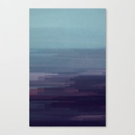 Glitched v.9 Canvas Print