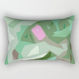Abstract Camouflage Rectangular Pillow