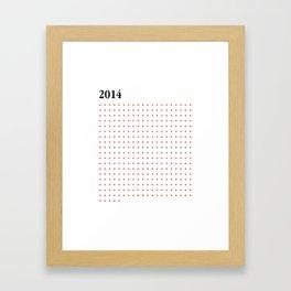 2014 RED CROSS Framed Art Print