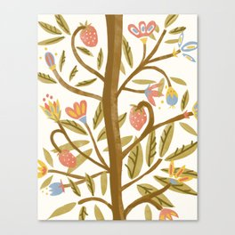 Te Odd Tree Canvas Print