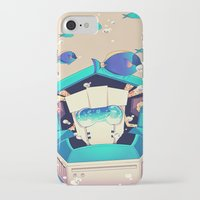 underwater iPhone & iPod Cases featuring Underwater by Coralus