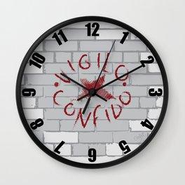 Vigilo Graffito Wall Clock