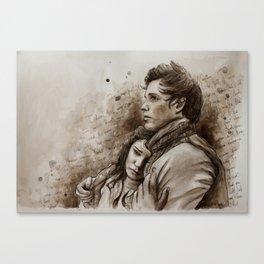 Eponine Marius Canvas Print