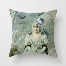 Poetic Art Throw Pillow
