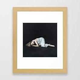 Captured sense Framed Art Print