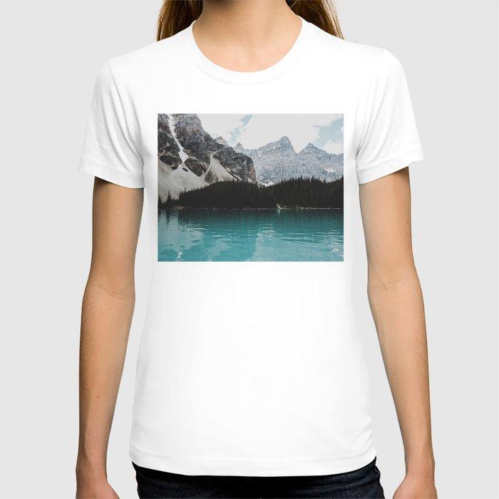 Lake Moraine, Banff National Park T-shirt