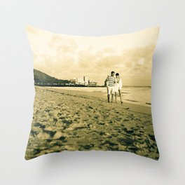 """""""Journey with You"""" Throw Pillow"""