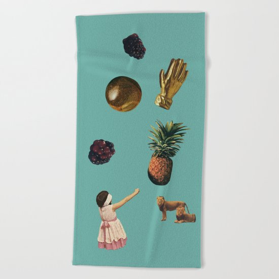 GOALS Beach Towel