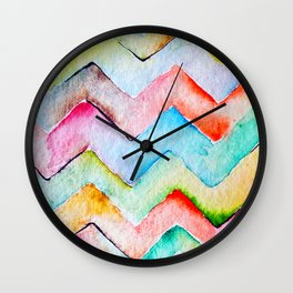 Chevrons Wall Clock
