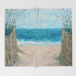 Sandbridge Shores Throw Blanket