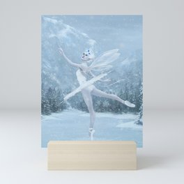 Snow Dancer Mini Art Print