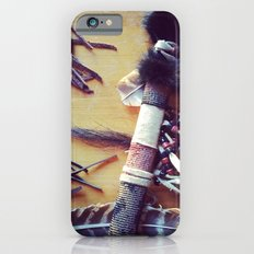 Feathers, Leather and Beads Slim Case iPhone 6s