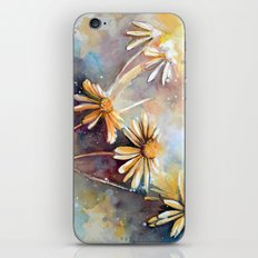 Purple Dream Garden, watercolor explorations iPhone & iPod Skin
