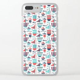 Set Sail Clear iPhone Case