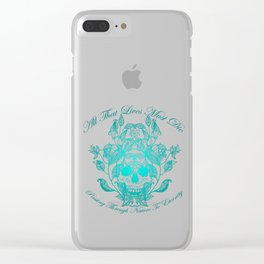 All That Lives V2 Clear iPhone Case