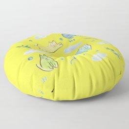 sunday mood Floor Pillow