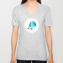The Heart Of Winter Unisex V-Neck