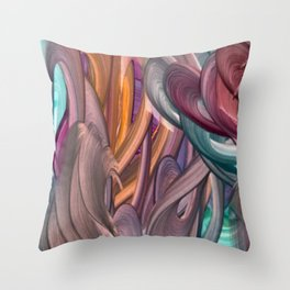 Achaman Throw Pillow