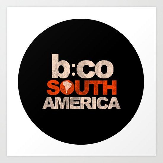 BCSA Logo Art Print