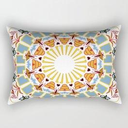 Utah pride mandala Rectangular Pillow