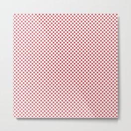 Cayenne Polka Dots Metal Print