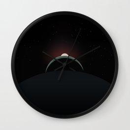 2001 Space Odyssey Sun, Earth, Moon Alignment Wall Clock