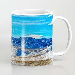 Wyoming Winter Nature Coffee Mug