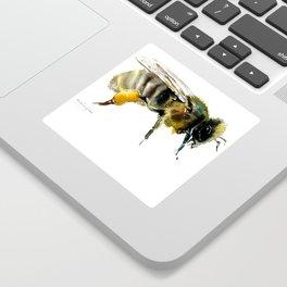 Bee, bee design honey bee, honey making Sticker