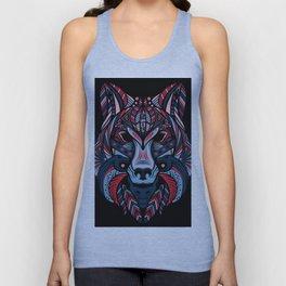 Wolf head art Unisex Tank Top