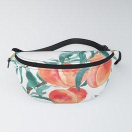 peach watercolor Fanny Pack