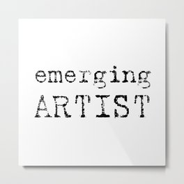 emerging artist Metal Print