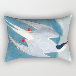 Arctic Tern Bird Rectangular Pillow