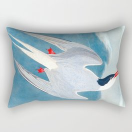 Arctic Tern Bird Rectangular Pillow