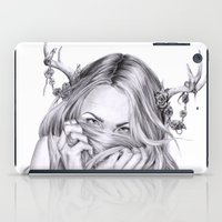 sister iPad Cases featuring Begonia's Sister by April Alayne