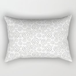 """Swirls/Rulitos"" Rectangular Pillow"